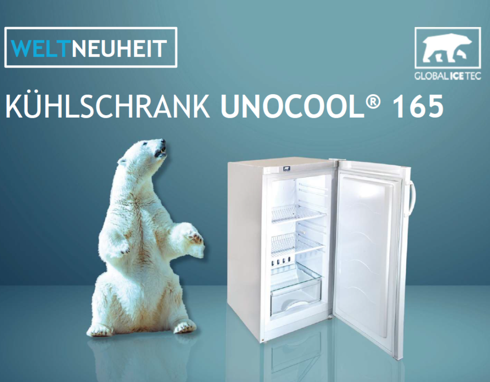 Global Ice Tec Solarkühlschrank